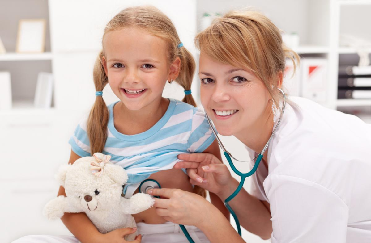 Картинки медсестры и детей